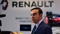 Carlos Ghosn, PDG de Renault, le 20 avril 2015