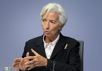 Christine Lagarde prévient d'une possible poussée inflationniste