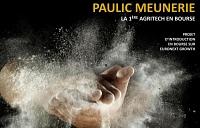 Le fabricant breton de farine Paulic Meunerie, qui veut nourrir les insectes, va entrer en Bourse