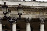 La bourse de paris repart à la hausse derrière new york