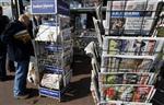 L'érosion des ventes de journaux a ralenti en 2010