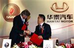 Spyker annule l'accord avec le chinois hawtai pour relancer saab