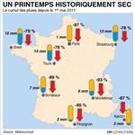La sécheresse affecte la production française d'électricité