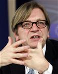 Europe : la zone euro est en crise de leadership, selon guy verhofstadt