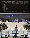 Europe : les bourses européennes encore en recul, peur d'une récession