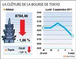 Tokyo : la bourse de tokyo finit en baisse sur le chômage américain