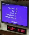 Le parlement slovaque approuve le renforcement du fesf