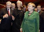 Mini-sommet à francfort à quatre jours du conseil européen