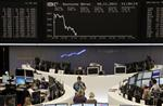 Les bourses européennes très nettement en baisse