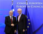 Europe : la zone euro prête à verser l'aide à la grèce, dit van rompuy