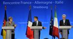Sarkozy fait un pas vers merkel qui reste ferme sur la bce