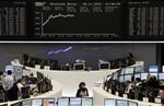 Les bourses européennes en forte hausse à la mi-séance