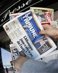 Le journal la tribune en redressement judiciaire