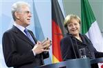 A berlin, monti demande aux marchés de voir les progrès italiens