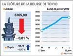 Tokyo : la bourse de tokyo finit presque inchangée
