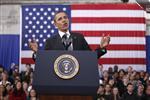 Obama veut stimuler emploi et croissance avec le budget 2013