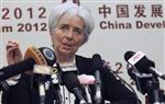 Lagarde voit des signes de stabilisation de l'économie mondiale