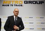 Metro anticipe un résultat 2012 stable par rapport à 2011