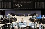 Les bourses européennes en baisse à la mi-séance
