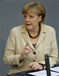 Angela merkel refuse une croissance à crédit