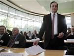 Mario draghi réclame une action rapide des politiques