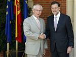 L'union bancaire européenne, une urgence pour rajoy, van rompuy