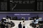 Les bourses européennes dans le positif à mi-séance