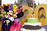 Euro Disney creuse sa perte nette pour son 20ème anniversaire