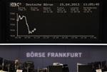 Europe : Les Bourses européennes creusent leurs pertes