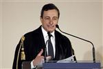 Marché : Mario Draghi exhorte les pays endettés à maintenir le cap