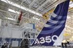 L'Airbus A350 pourrait effectuer son 1er vol au salon du Bourget