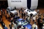 Profit trimestriel de 5,2 milliards d'euros pour Daimler