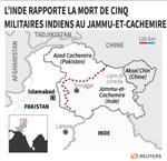 Marché : Cinq militaires indiens tués près du Pakistan, dit l'Inde