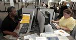 Marché : Hausse moins marquée que prévu des inscriptions au chômage