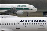 Paris prudent sur une fusion entre Air France-KLM et Alitalia