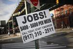 Marché : Forte hausse des créations d'emplois en mars aux Etats-Unis