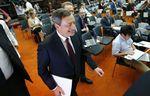 Marché : Les taux resteront bas de fait d'une reprise inégale, dit Draghi