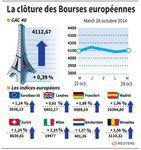 Europe : Rebond des marchés européens, soutenus par de bons trimestriels