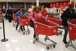 Marché : Les Américains ont moins dépensé en magasins à Thanksgiving
