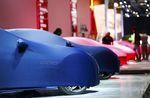 Ombres chinoises sur le salon de l'automobile de Francfort