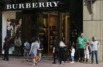 Marché : Burberry fait moins bien que prévu au 1er semestre