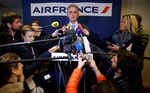 Air France maintient son