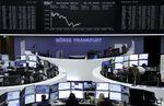 Europe : Les Bourses européennes dans le rouge vendredi à la mi-séance
