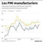 Europe : La croissance du secteur manufacturier se maintient en zone euro