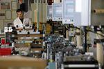Marché : La production industrielle en hausse de 0,5% en octobre