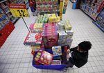 Marché : Inflation nulle en moyenne annuelle en France l'an passé