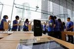 Marché : L'action Apple finit sur les 90 dollars