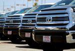 Marché : 1,6 million de véhicules Toyota rappelés aux Etats-Unis