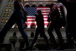 Wall Street : Wall Street recule après les chiffres de l'emploi