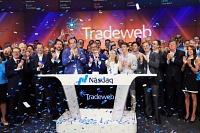 Tradeweb a levé 1,1 milliard d'euros jeudi lors de son IPO